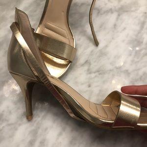 Lulus Gold Heels